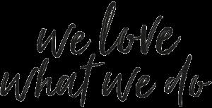 ABC-Salon Slogan we love what we do